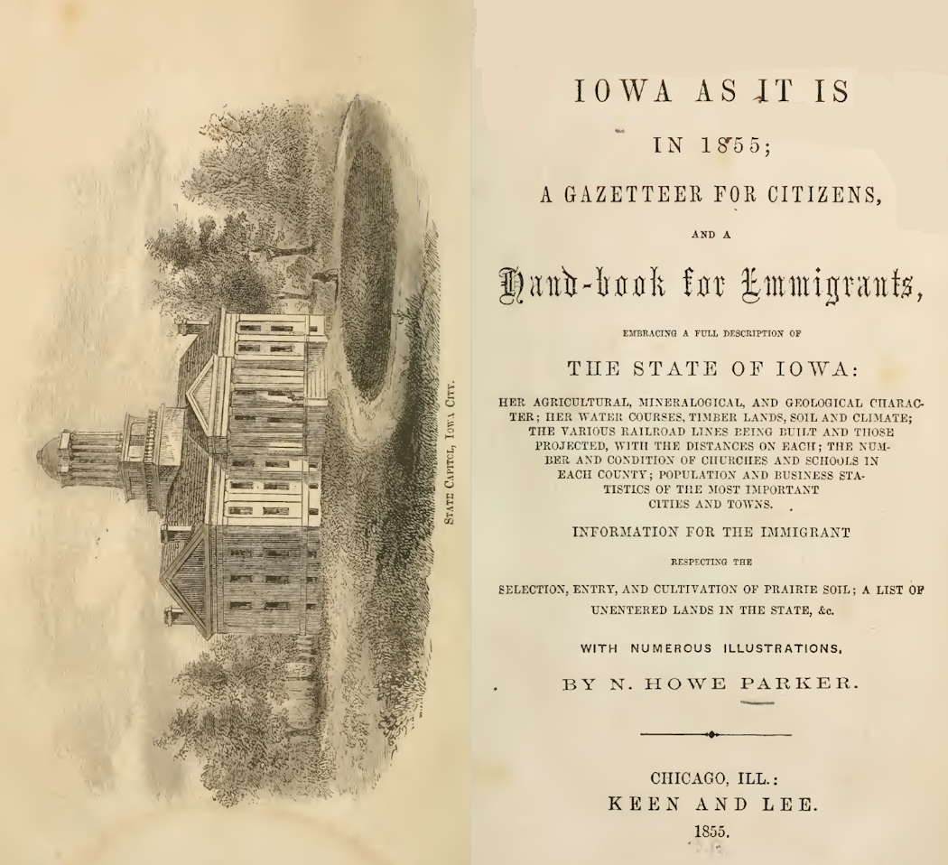 TitlePageIowaAsItIs1855at1050