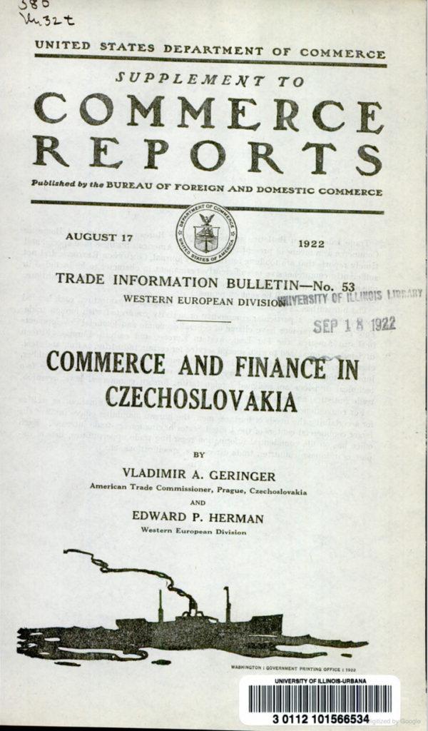 BookVladimirGeringer1922Commerce