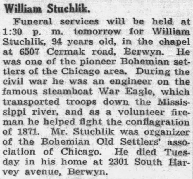 ObitTribuneMar241928Page14WilliamStuchlik