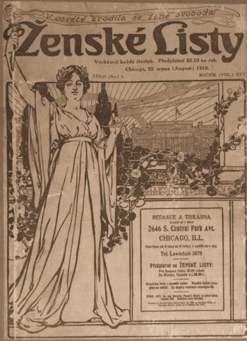 CoverZenskeListyChicago1918at350